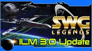 SWG: Legends - ILM 3.0 Update - Amazing Graphics!