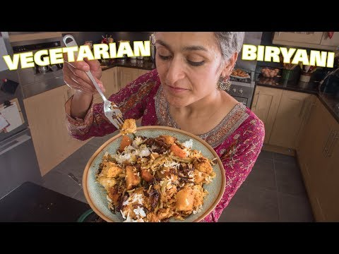 BIRYANI! how to make Vegetable biryani | Food with Chetna