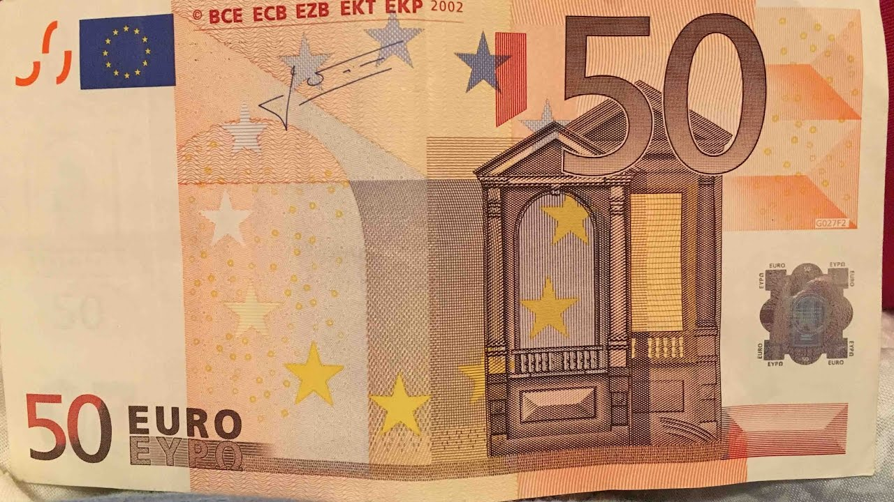 never notice videos 2 the 50 euro paper money youtube. Black Bedroom Furniture Sets. Home Design Ideas
