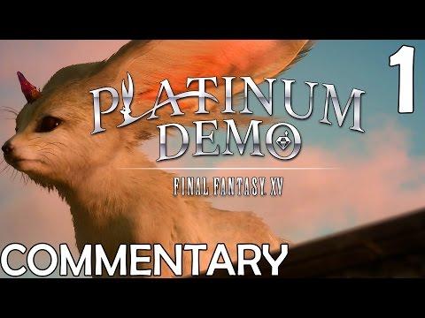Final Fantasy XV Platinum Demo Walkthrough Part 1 - Young Noctis' Dream World