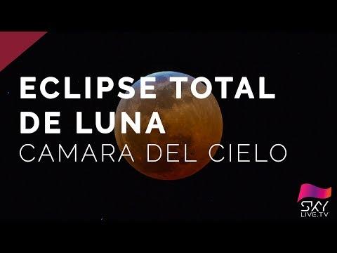 ¡Espectacular! Así se vio el eclipse de luna desde España