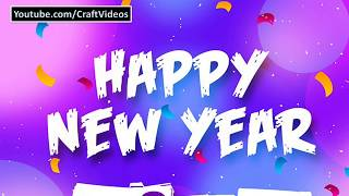 Happy New Year 2019 Whatsapp Status Video and Countdown