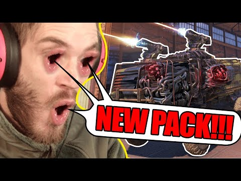 PewDiePie On Crossout And New Pack BREAKDOWN | Crossout News