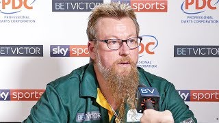 Simon Whitlock: 'If I play my best darts, I can beat anyone.' | 11-7 win over James Wade