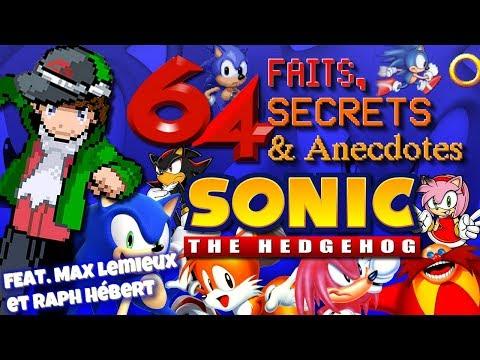 64 Faits, Secrets et Anecdotes - SONIC THE HEDGEHOG - FR/QC (Feat. Max Lemieux et Raph Hébert)
