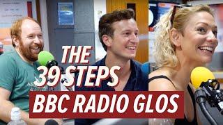 The 39 Steps: BBC Radio Glos Interview | #Barn39Steps