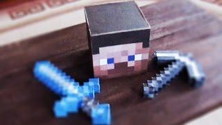 видео майнкрафт как сделать голову стива