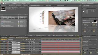 After effects tutorial: simple glossy promo effect - acrezhd