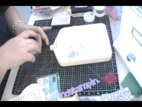 "Putting together Craftin' and Stampin' ""Moms Special Folder"" SVG Kit"