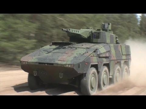 Rheinmetall Defence - Boxer 30mm Lance Turret 8X8 Infantry Fighting Vehicle [1080p]