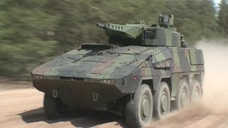 Rheinmetall Defence - Boxer 30mm Lance Turret 8X8 Infantry Fighting Vehicle [1080p]