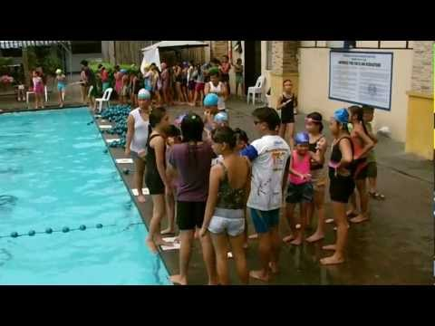Christian Phoebe Swim Class @ Camp Crame 2K12 [HD]