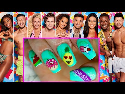Love Island Instagram Inspired Nail Art - Full Look Tutorial thumbnail