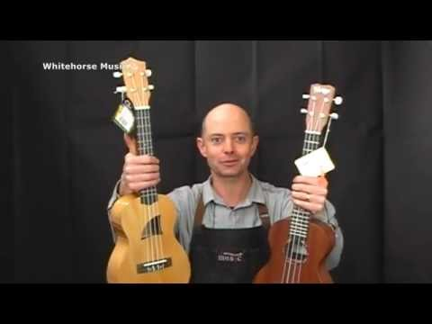 Ukulele Review!! $100 to $150 price range. Eddy Finn vs Cordoba