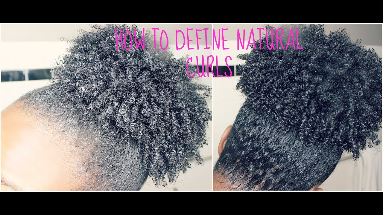 Best Way to Define Natural Curls Without Gel!!! - YouTube