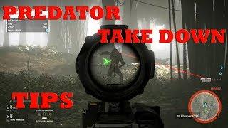 How to BEAT the PREDATOR TIP/TRICKS Wildlands