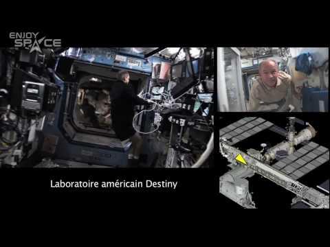 Visitez l'ISS avec Jeffrey Williams
