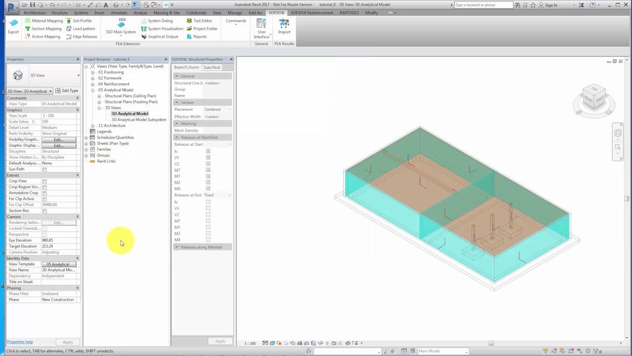 BIM - Building Design Tutorial — SOFiSTiK TUTORiALS