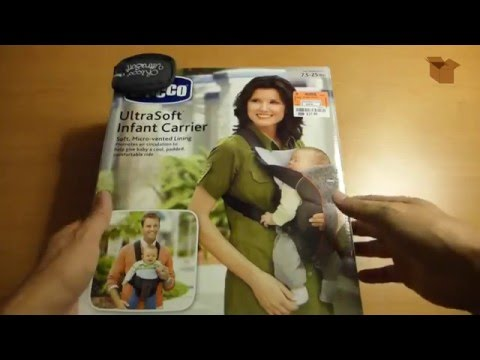 Unboxing Chicco Ultrasoft Infant Carrier