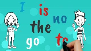 Tricky Words Sight Words Song for I, go, to, no, is, the