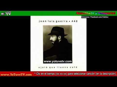 ►Juan Luis Guerra -  Ojala Que Llueva Cafe (1990)