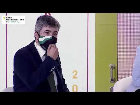 Modesto González en el I Foro Metro Metropolitano de Sevilla
