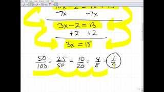 New 2014 GED Math Practice Sample Video