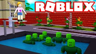 Roblox | Escape The Zombie Slime Pool Obby!