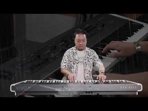 Dexibell VIVO S7演示(上)/梁华刚/键盘中国论坛