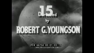 """ 50 YEARS BEFORE YOUR EYES ""  PART 1   1900-1950 DOCUMENTARY FILM  66734"
