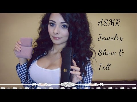 ASMR Showing You My Favorite Jewelry Pieces (Whispering, Nail Tapping)