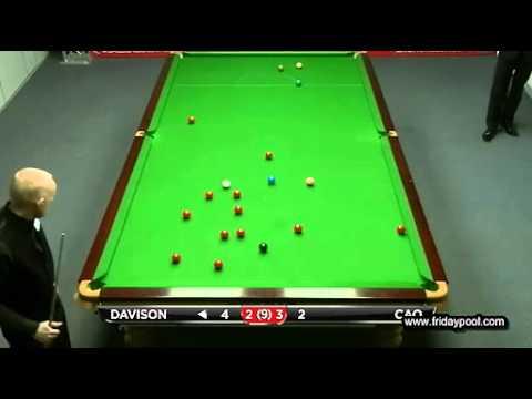 Snooker Australian Goldfields Open 2012 qualifiers R1-曹宇鵬 Cao vs Davison Fr.5-7