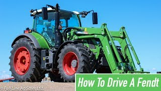 How to drive a Fendt Tractor