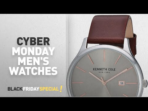 Cyber Monday Kenneth Cole New York Watches : Kenneth Cole New York Men's 'Classic' Quartz Stainless