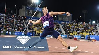 The best 90 meter javelin throws from the IAAF Diamond League thumbnail