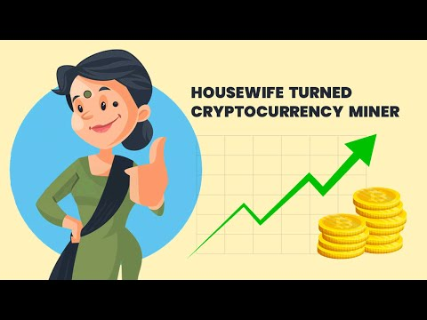 How A Housewife Became A Cryptocurrency Miner