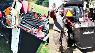 A Safe Chainsaw Scabbard- AMAZING 360 CAM