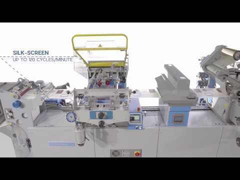 CARTES GT363SHR FASTWEB - Machine To Produce Self-adhesive LABELS