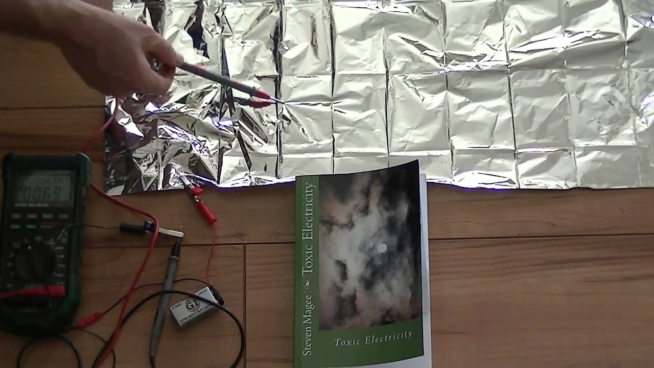 The Problem With Using Space Blankets For Electromagnetic Shielding Microwave Wiring Circuit