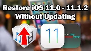 How to Restore iOS 11.0 - 11.1.2 To Factory Settings Without Updating Using Prometheus