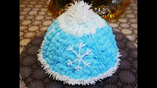 Торт МУРАВЕЙНИК Новогоднее украшение торта ШАПОЧКА торт рецепт БЕЗ ЯИЦ  Готовим с Любовью