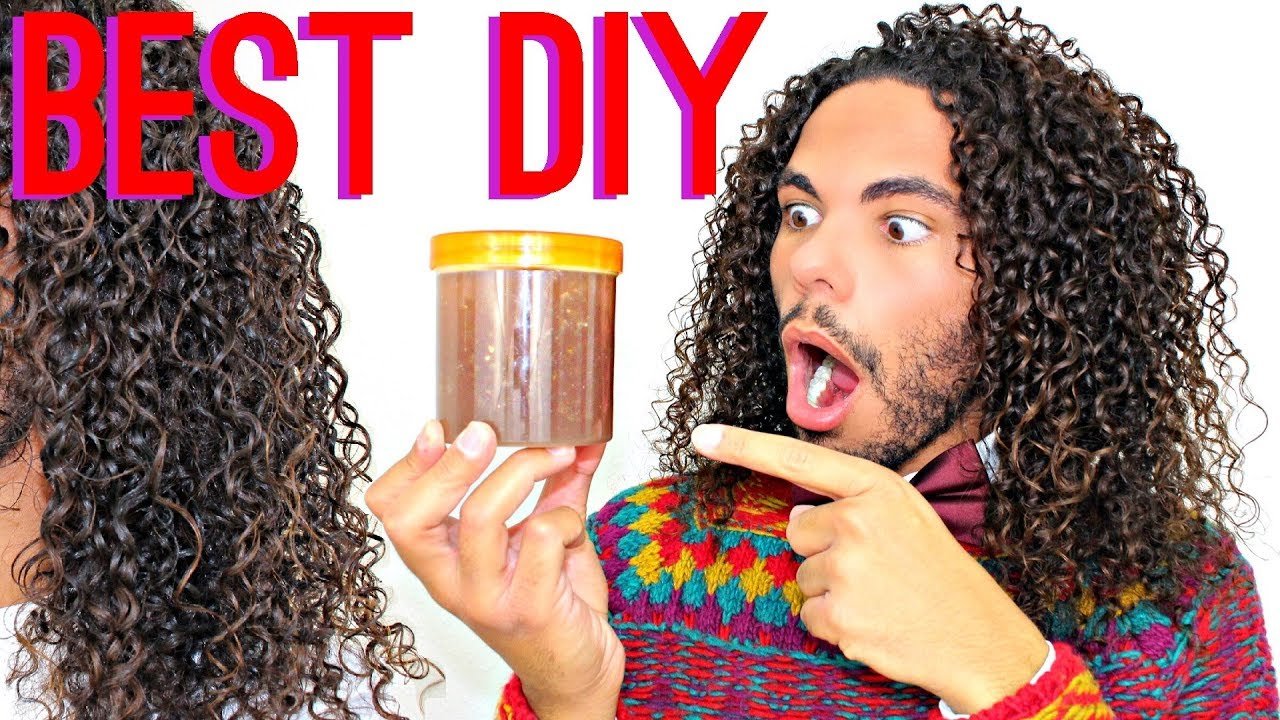 BEST DIY Leave In Conditioner Tutorial EVER  Silky Soft And Defined Curly  Hair