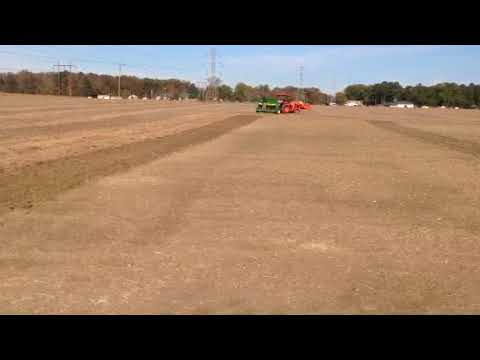 Planting Winter Cover Crop at Randolph Farm - VSU College of Agriculture