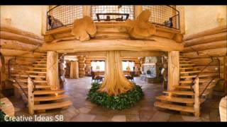 80 Log Wood DIY Creative Ideas 2017 - Amazing Log wood home ideas -newest house