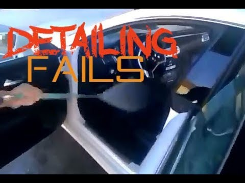 Top 10 Car Detailing Fails, Mistakes, Faux Pas