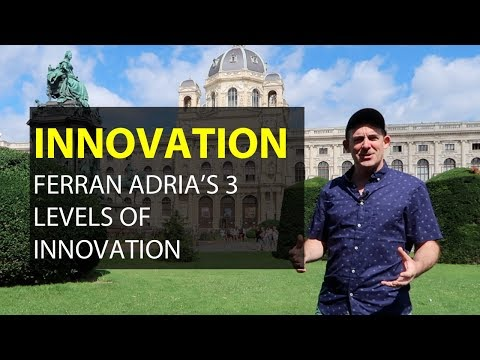Innovation and the Creative Process: Ferran Adria's 3 Types of Innovation