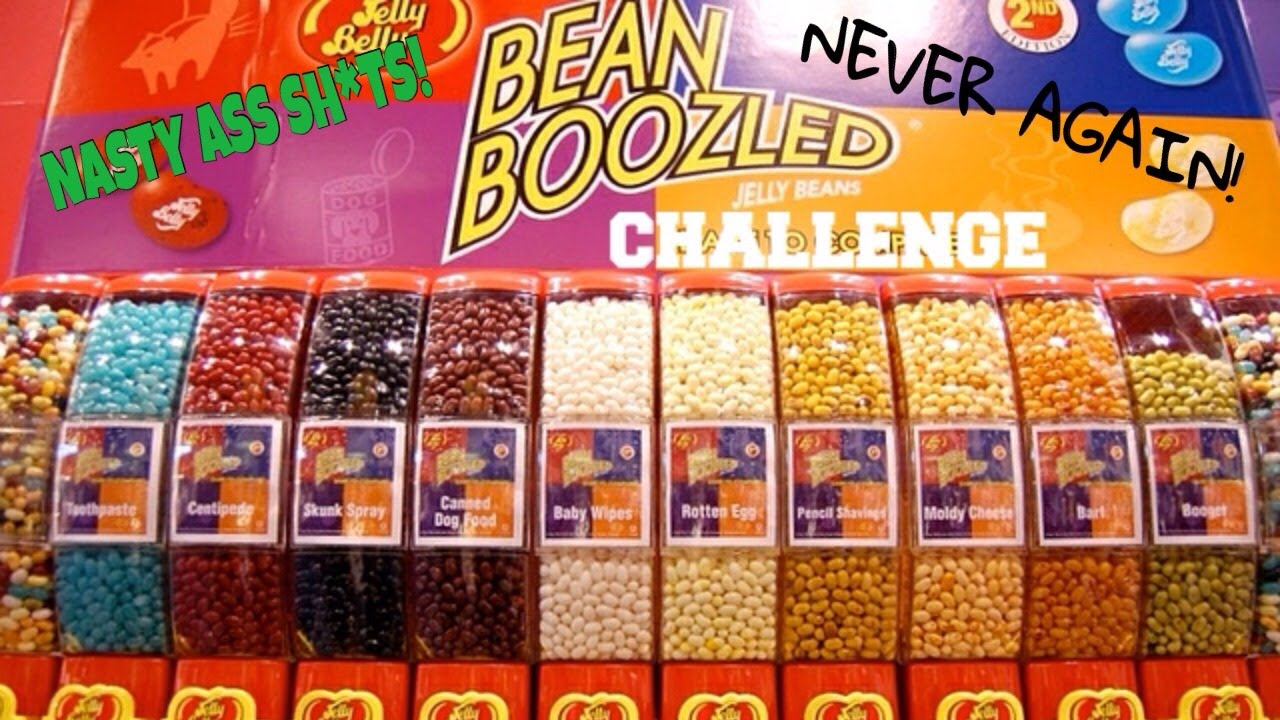 Bean Boozled Challenge 1st Challenge Youtube