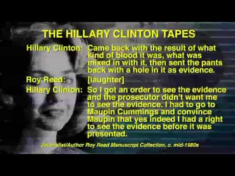 Listen to Hillary Clinton Laugh While Talking About Getting a Suspected Child Rapist Off the Hook