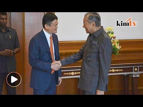 Jack Ma terkejut pengetahuan Dr M