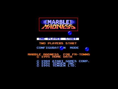 High Score Screen - Marble Madness (FM Towns) Music
